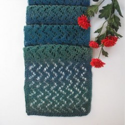 "Strickanleitung ""Teal Forest"""